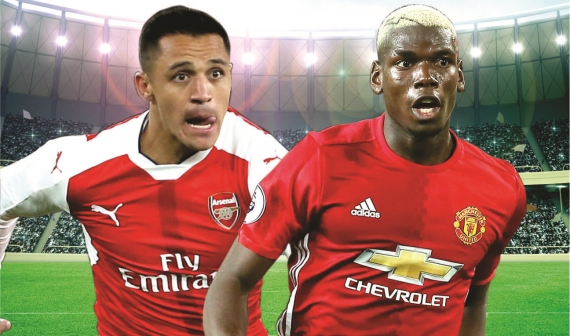 The chase for top four continues on Sunday as Arsenal host Manchester United at the Emirates Stadium.