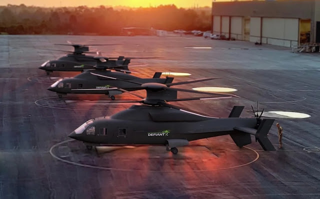 trực thăng Defiant X