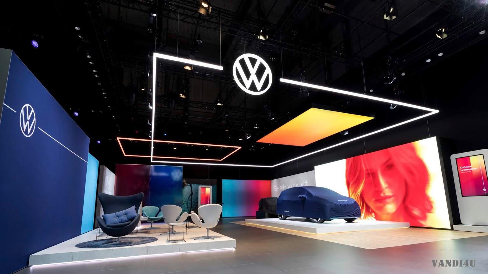 Volkswagen Unveils New Brand Logo And Design   VANDI4U