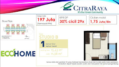 Ecohome Apartemen Citra Raya / ANDREAS 08126730295
