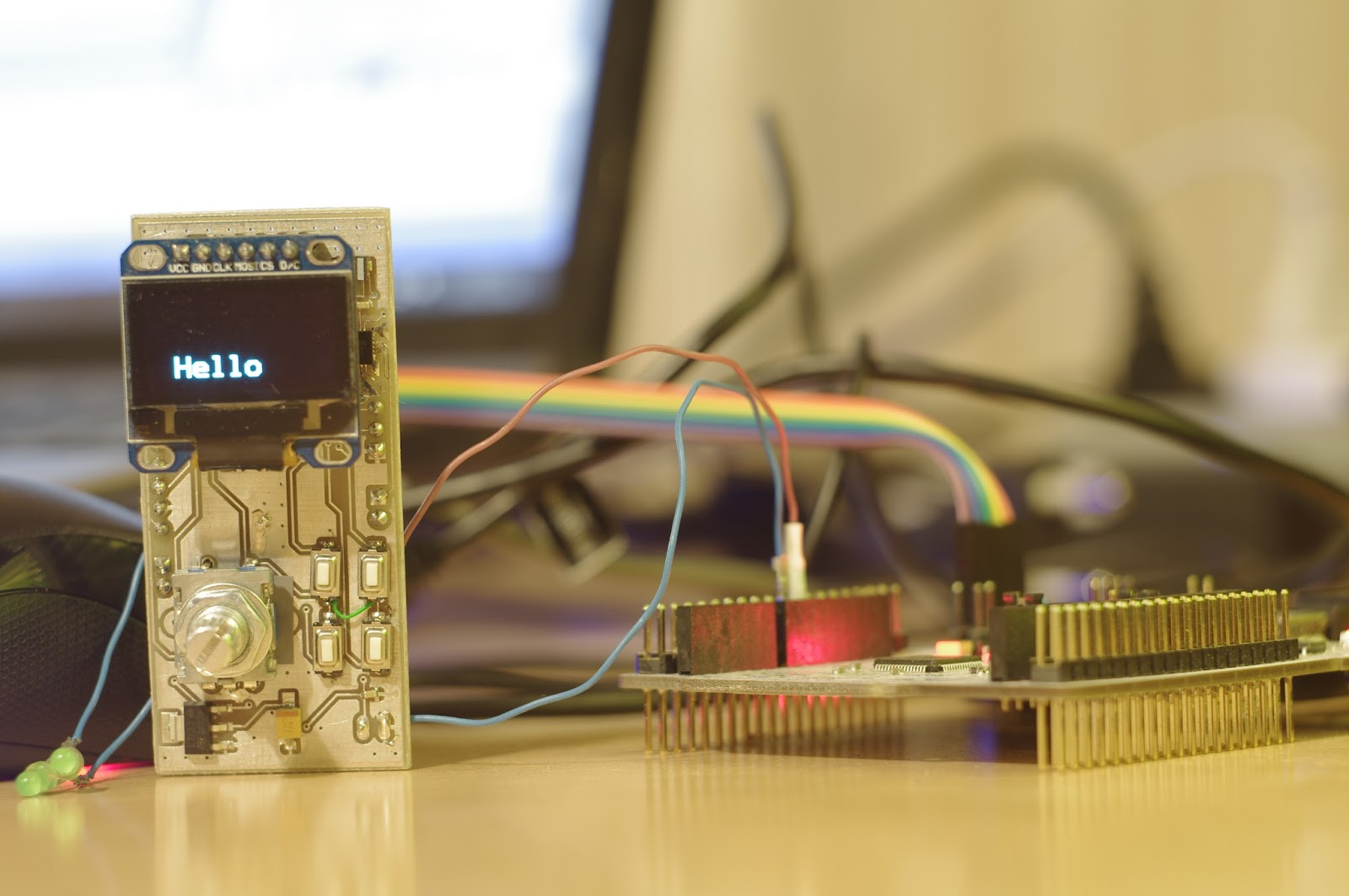 STM32 + SPI OLED SSD1306 + u8glib + CubeMX