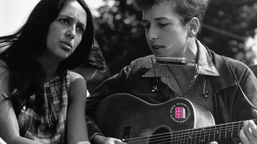 Joan Baez and Bob Dylan, Civil Rights March on Washington, D.C.