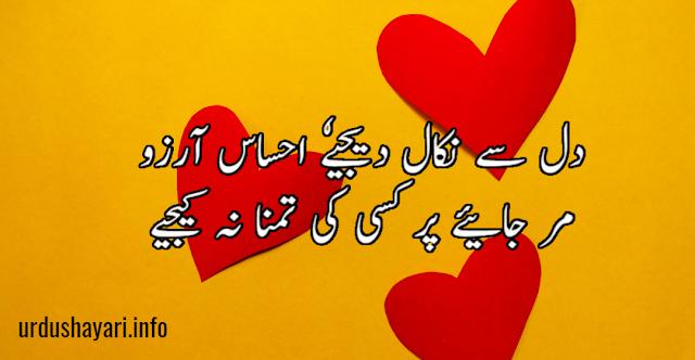new aarzoo staus - best urdu aarzoo shayari - 2 lines urdu poetry for fb status