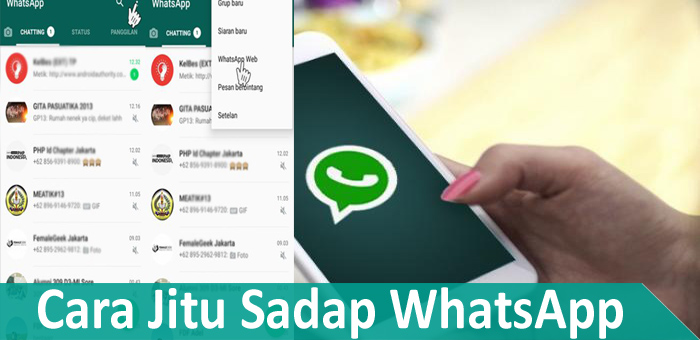 Cara Jitu Menyadap WhatsApp dengan Whatscan Whatsweb