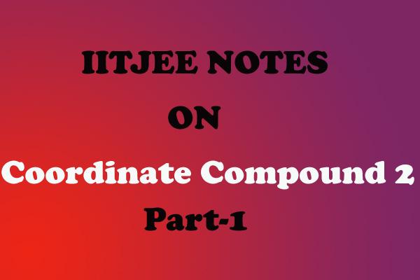 Co-Ordinate Compound