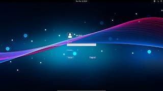 gdm3 3.6 login screen