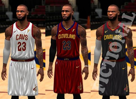 DNA Of Basketball | DNAOBB: NBA 2K14 Cleveland Cavaliers Jerseys 2017-2018 by Drucylity2k