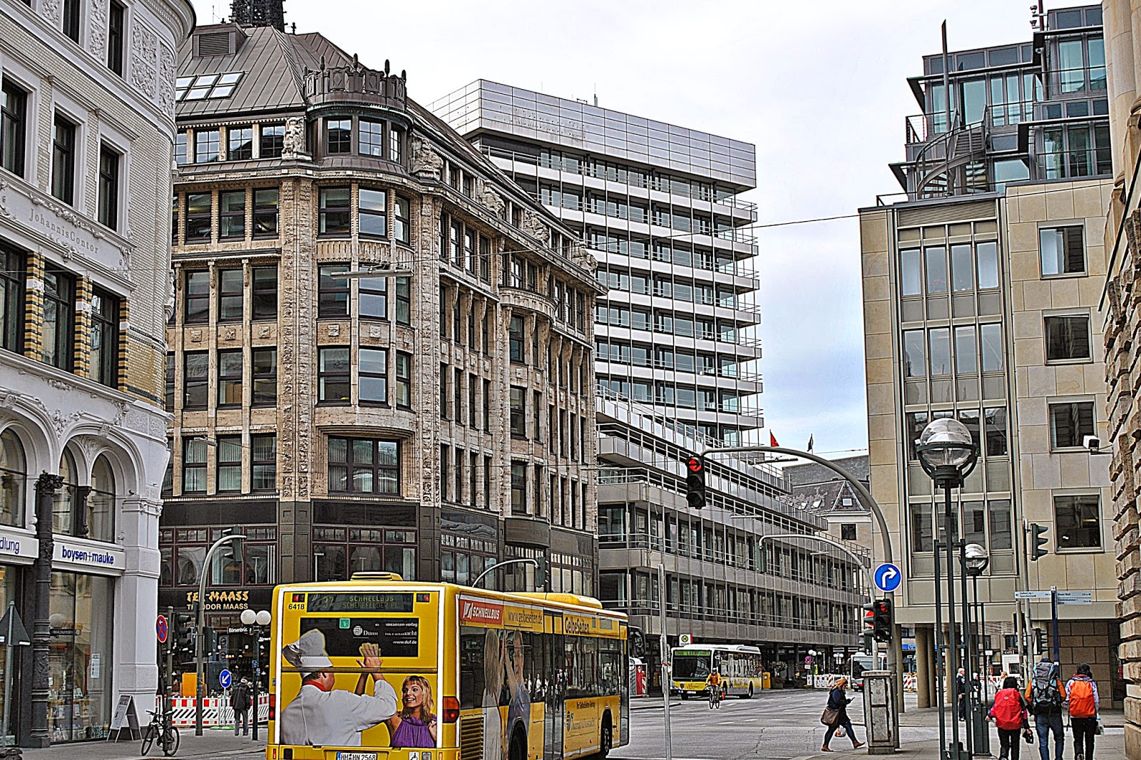 Hamburg, centrum