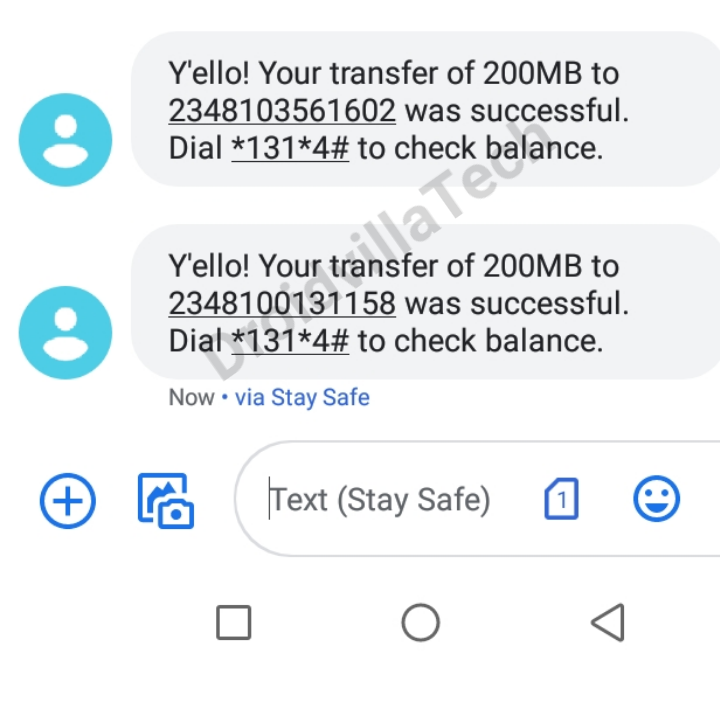 Mtn data 200mb share