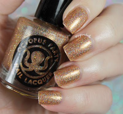 Octopus Party Nail Lacquer Amulet  |  Ella Ann Cosmetics Exclusives for Winter 2016