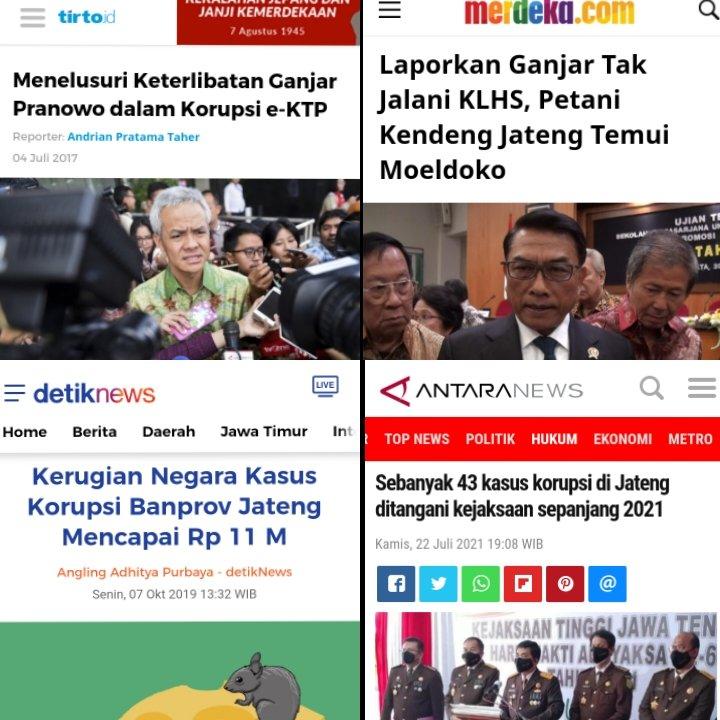 Tak Sebersih yang Digaungkan Para BuzzeRp, Tokoh Ini Sebut Ganjar Pranowo Punya Banyak Jejak Korupsi