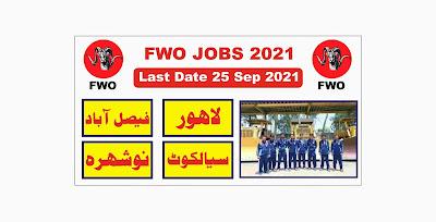 FWO Jobs 2021 Online Apply