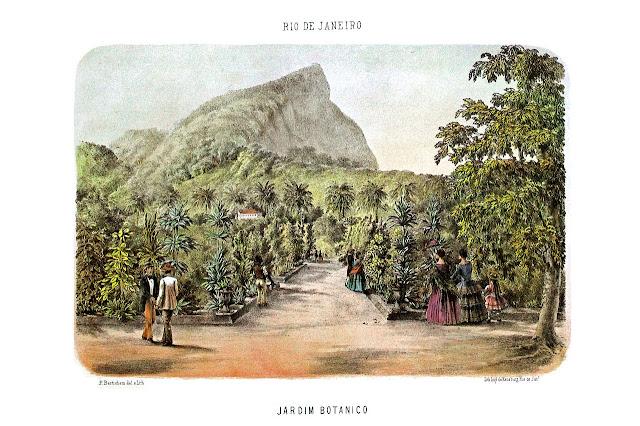 Junho na História - inauguração do Jardim Botânico do Rio