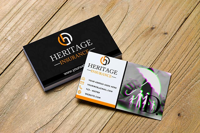 Insurance-Business-Card-Template-Free-Vector-Image-PSD-&-Cdr-file-Download