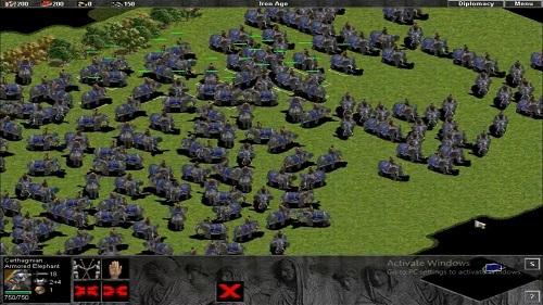 Carthaginian có lợi thế về hệ quân vàng