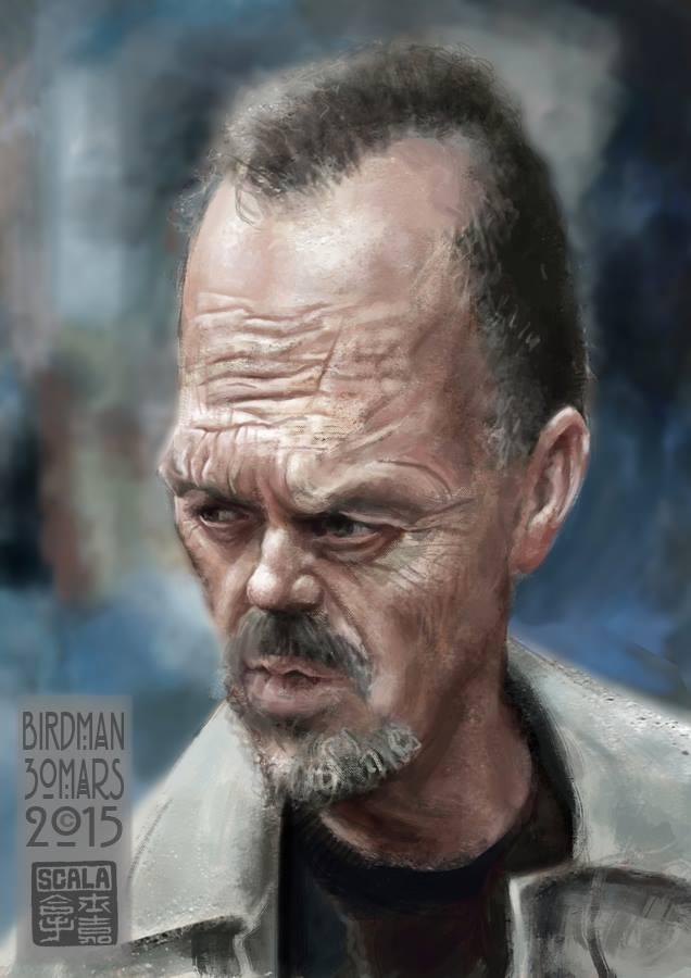 Michael Keaton por Eric Scala