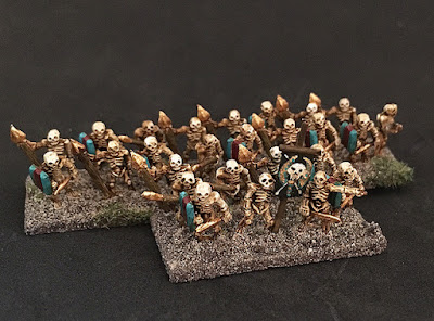2nd place: Undead skeletons, by Ironduke - wins £20 Pendraken credit!