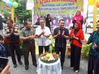 HUT Pertama FKMTD Pekanbaru, Warga Kampung Melayu Antusias Ramaikan Pergelaran