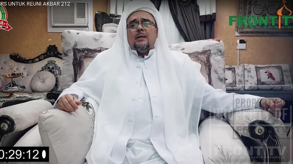 Habib Rizieq Pulang 10 November, Segini Tiket Jeddah-Jakarta