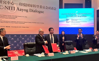 5th NITI Aayog–DRC Dialogue Held in Wuhan