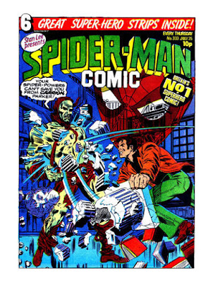 Spider-Man Comic #333, Carrion
