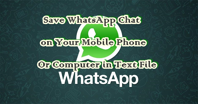 whatsAppsave Chat