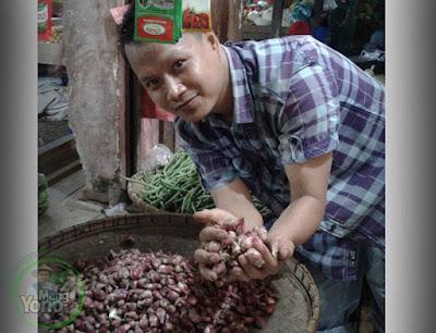 Bawang merah Rp.48.000/Kg dipasar Pabuaran