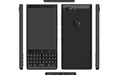 تسريب جديد BlackBerry KeyTwo