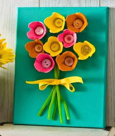 Maestra titty come realizzare un mazzo di fiori per la for Come costruire un mazzo di 2 piani