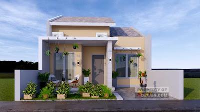 Desain Rumah Sederhana Tapi Mewah 7x12
