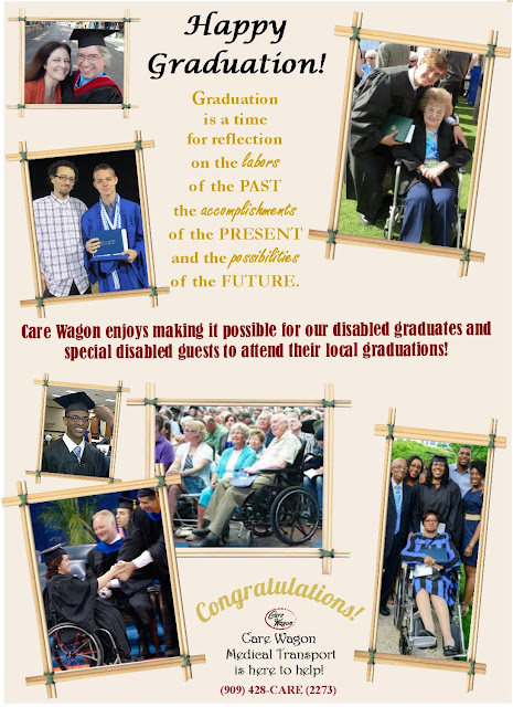 Wheelchair Accessible Transportation for Graduations