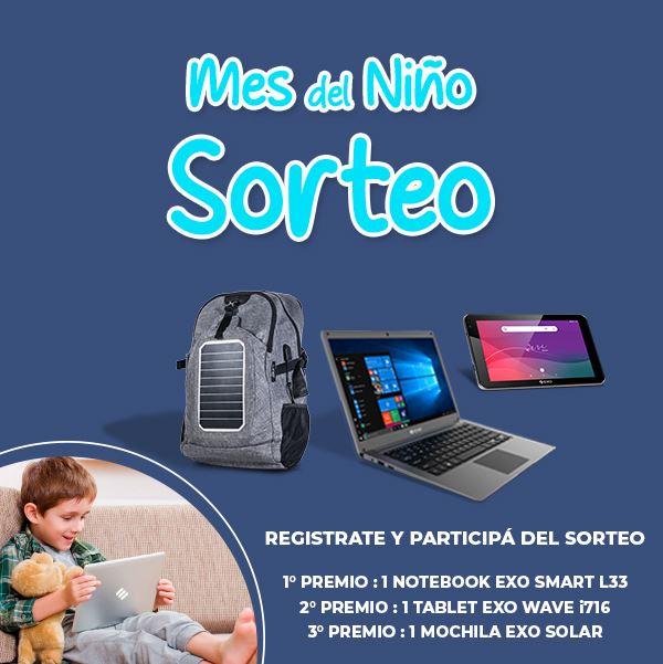 Sorteo EXO Dia del Niño 2021