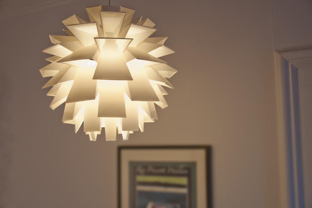 norm 69 pendant light large white from normann. Black Bedroom Furniture Sets. Home Design Ideas