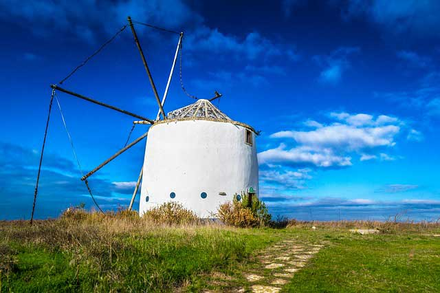 Windmill in Sintra