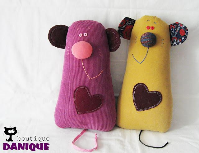 jucarii textile, pernute, soricei