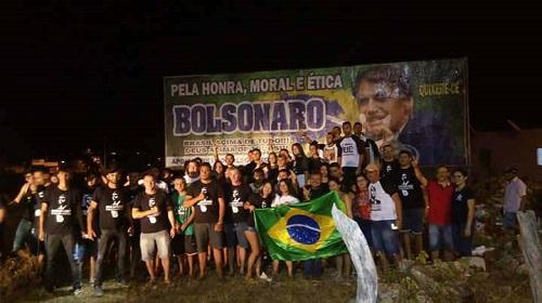 apoio a Bolsonaro em Quixeré