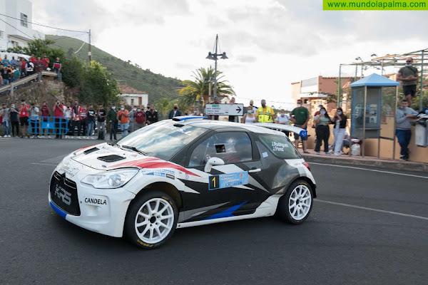 Jorge Rodríguez-Javier Pérez (Citroën DS3 R5), comenzarán como líderes la segunda jornada del XIII Rallysprint Cielo de La Palma