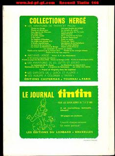 Recueil du journal Tintin numéro 146, 1979