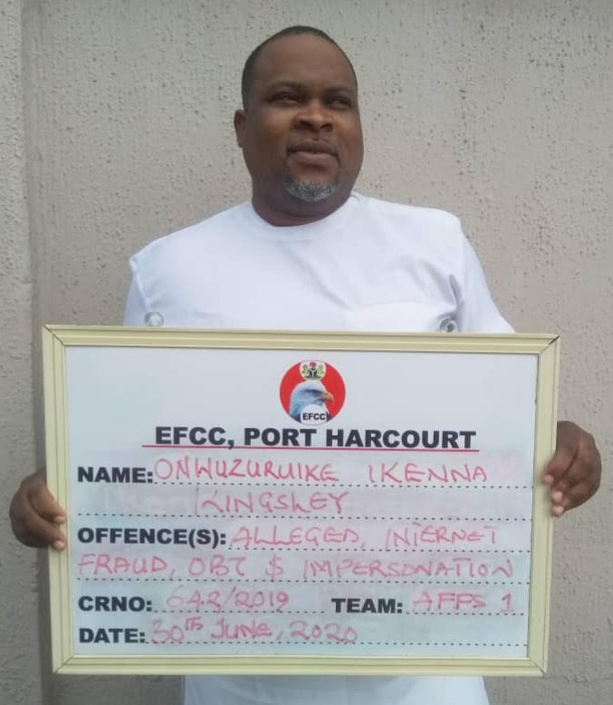 $8.5m Scam: How EFCC arrests alleged Internet fraud kingpin Nwatanayoeze in Abia state