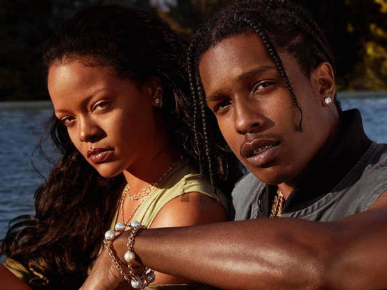 Rihanna and A$AP Rocky are together: the couple confirms their relationship after months of rumors