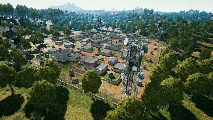 معسكر برافو خريطة سانهوك