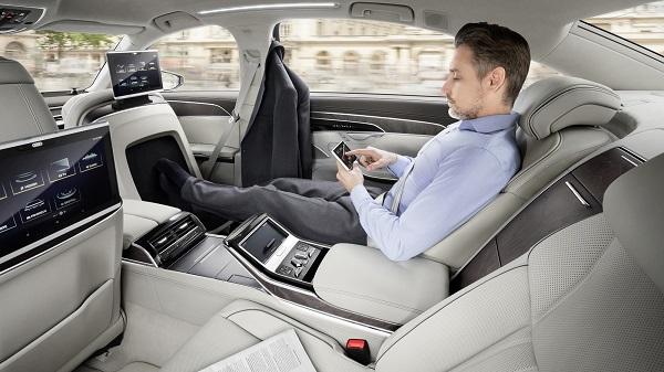 Interior Audi A8