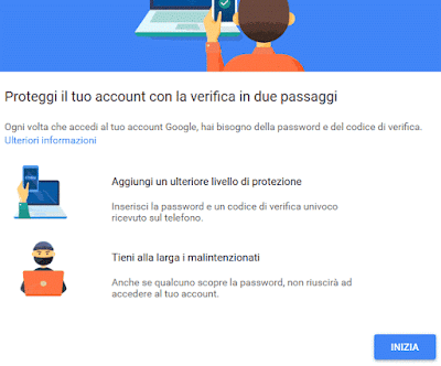Come aumentare la sicurezza di google