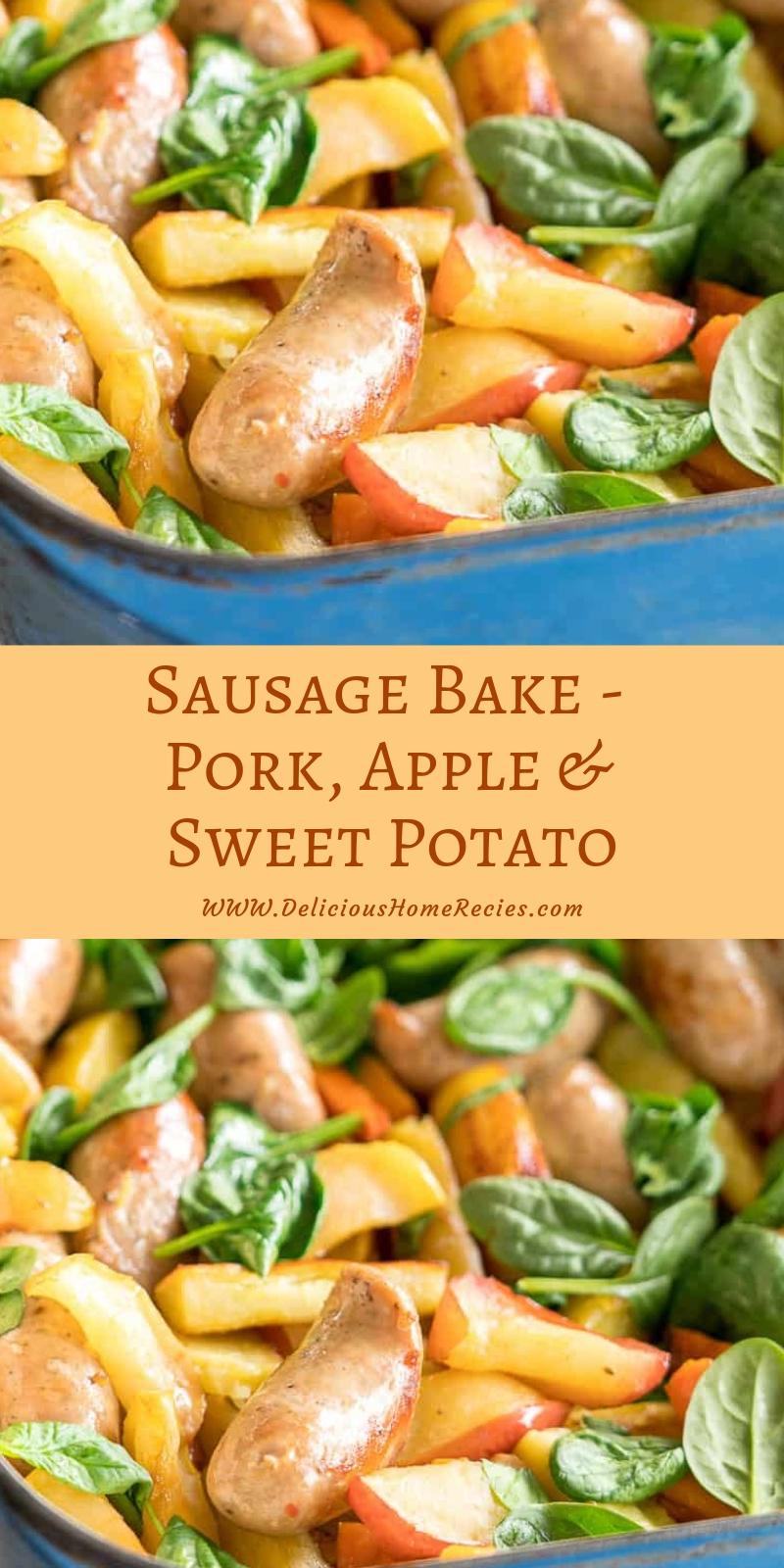 Sausage Bake - Pork, Apple & Sweet Potato