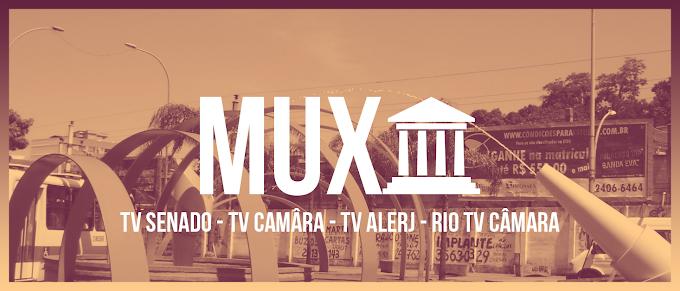 TV Senado e câmara do Rio firmam parceria, Mux Legislativo no ar em breve no Rio.
