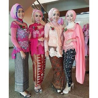Model Kebaya Modern Pernikahan Broklat Batik