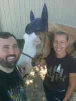 horse artist, equine artist, PSSM horse