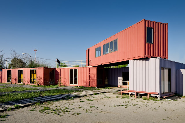 Shipping Container Sale Rooms, Showroom and Offices, Santiago, Chile 11