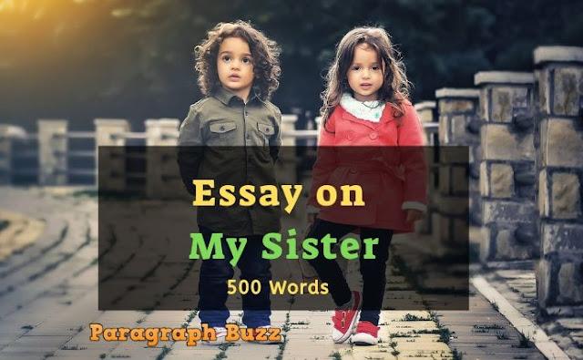 My Sister Essay