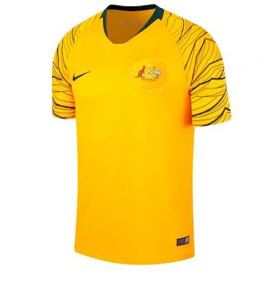 Jersey Australia Home Piala Dunia 2018